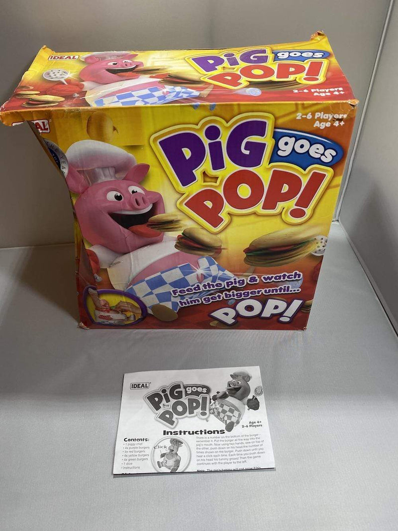 Ideal Game Pig Goes Pop Game from Ideal