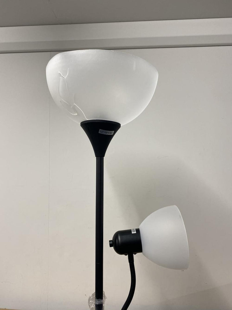 Light Accents Floor Lamp Adjustable Floor Lamp with Reading Light by Light Accents - Damaged