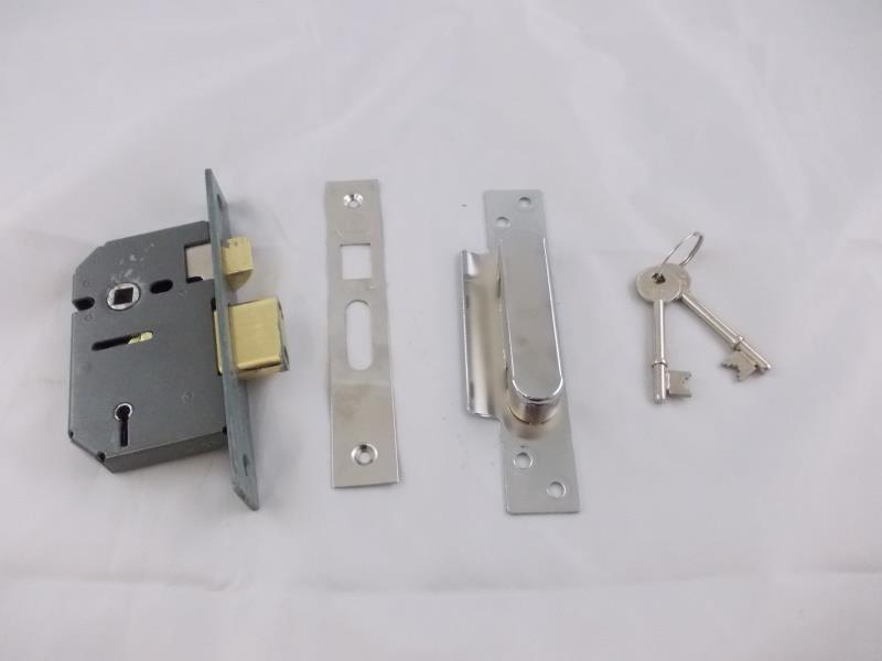 love a fabprice Yale P-M550-CH-65 5 Lever Mortice Sashlock, Visi Pack, Suitable for External Doors