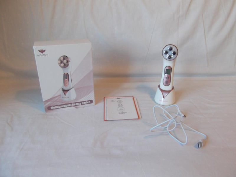 MiSMON Wrinkle Reduction Facial Massager 5 in 1 Wrinkle Reduction Device High Frequency RF LED