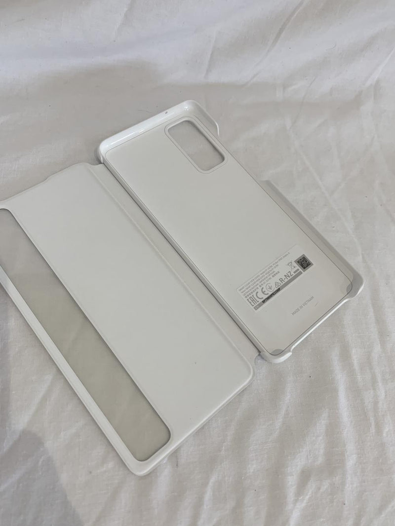 Samsung Phone Case Samsung Galaxy S20 FE Clear View Cover White