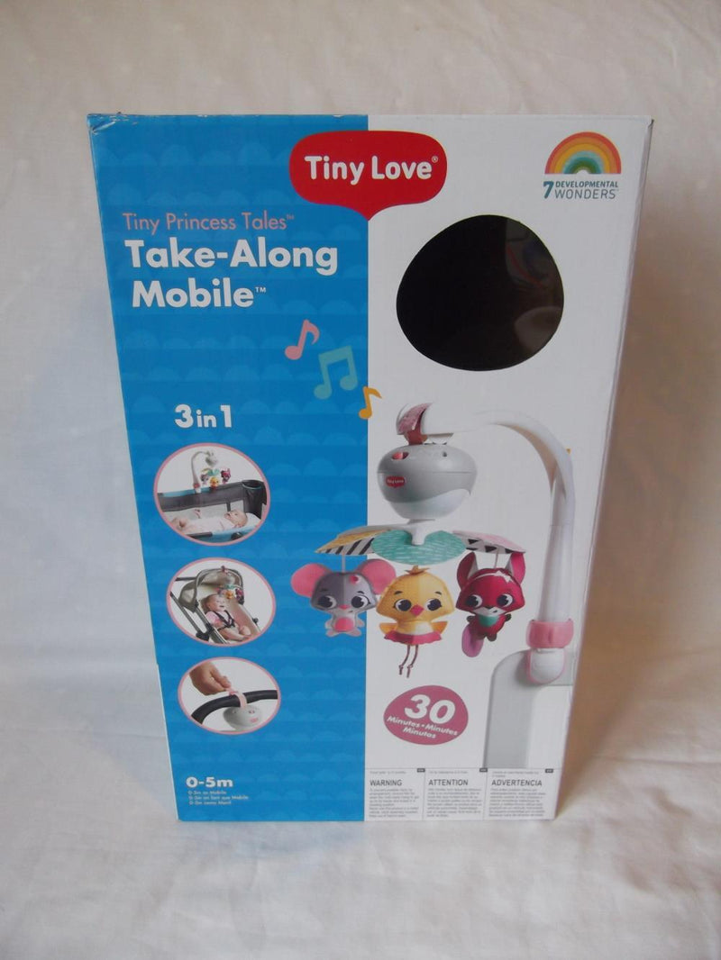 Tiny Love Mobile Tiny Love Take-Along Mobile, Baby Mobile and Stroller Activity Toy with Music