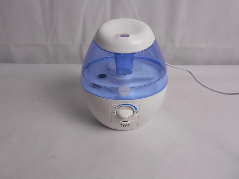 Vicks Ultrasonic Humidifier VICKS VUL520E1 Mini Cool Mist Ultrasonic Humidifier