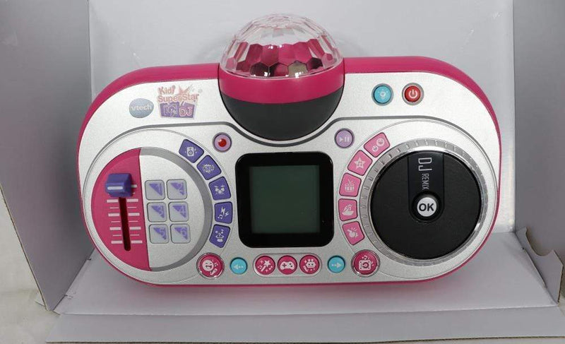 VTech DJ, Kids Microphone VTech Kidi Super Star DJ, Kids Microphone Toy with Songs and Sound Effects