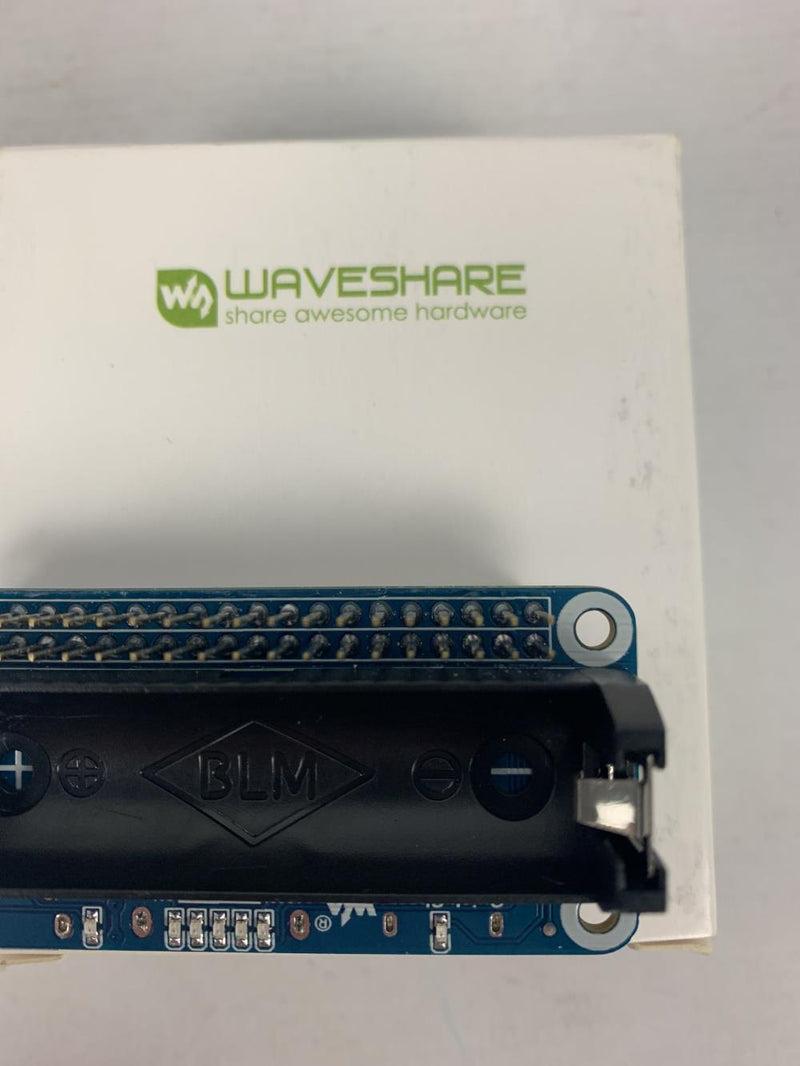 Waveshare Li-ion Battery Waveshare Li-ion Battery HAT for Raspberry Pi 5V (Untested)