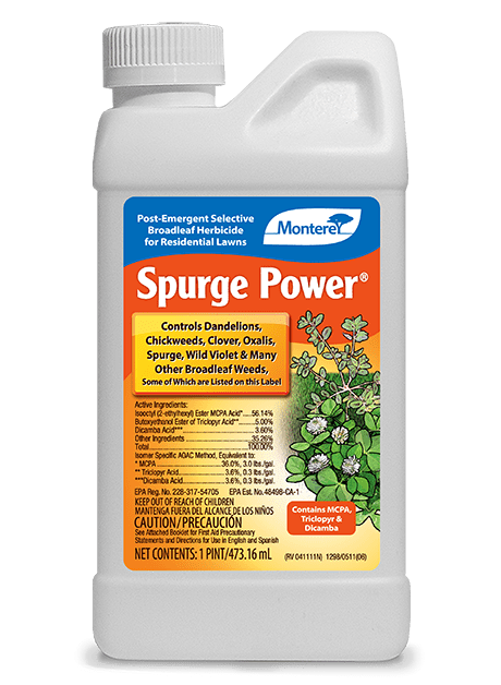 Monterey Lawn & Garden Spurge Power®