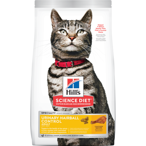 Hill's® Science Diet® Adult Urinary Hairball Control cat food