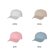 Load image into Gallery viewer, Dad Hat - babe (script)