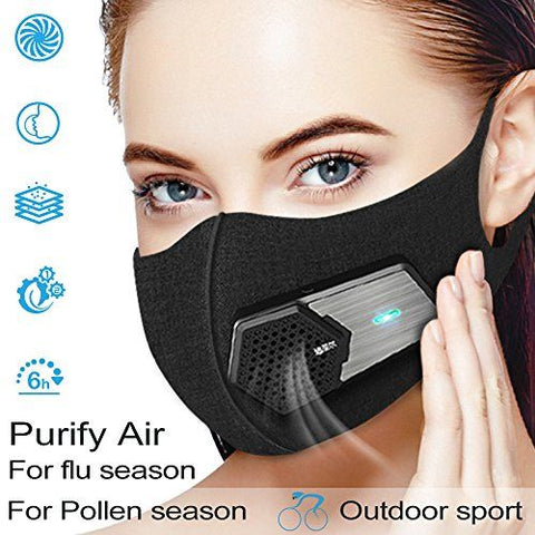 Wearable Air Purifier Mask