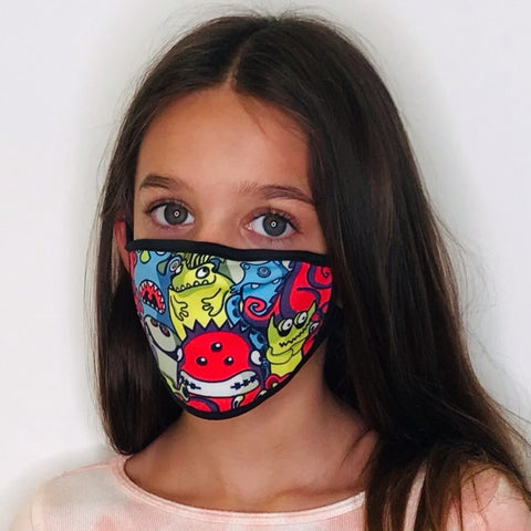 Monsters Face Mask