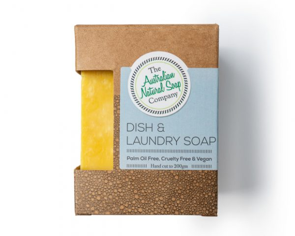 The Aust Natural Soap Co. Dish & Laundry Soap 200g