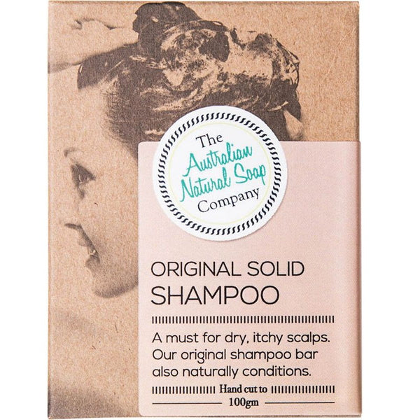 The Aust Natural Soap Co. Original Solid Shampoo 100g