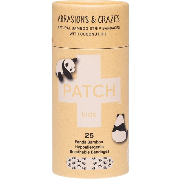 Patch Panda Bamboo Hypoallergenic Kids Bandages 25s