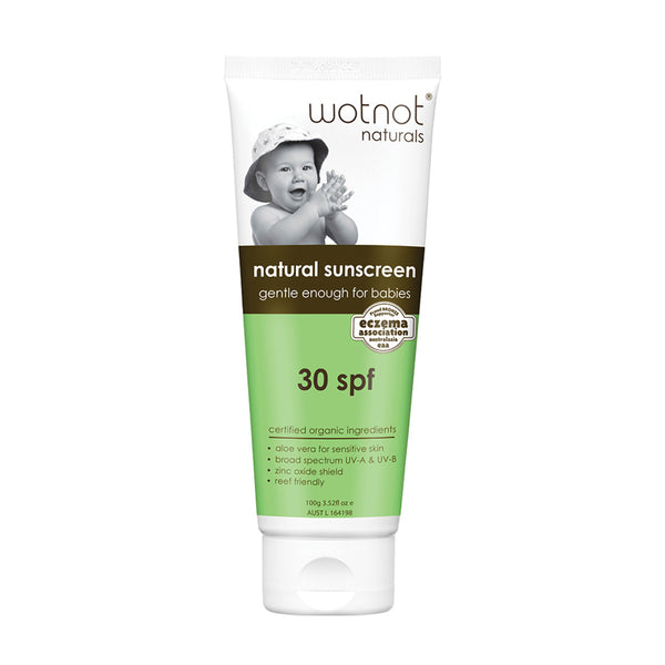 Wotnot Natural Baby Sunscreen SPF 30 100g