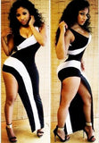 New Fashion Women Sexy party bandage dress sexy jumpsuit dress big swing skirt mopping dress