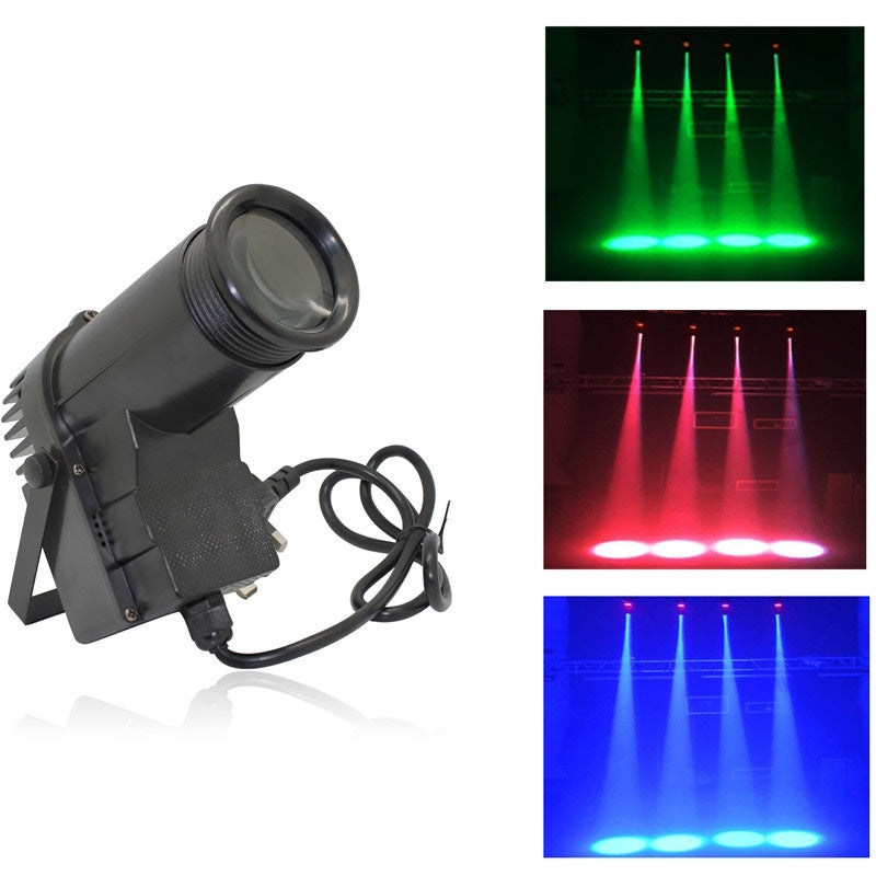 LT - 4 30W RGB 1PCS DMX512, Self-propelled, Voice-activated LED Stage Light