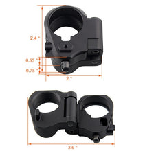 Load image into Gallery viewer, Tactical AR Folding Stock Adapter For M16/M4 SR25 Series GBB(AEG) For Airsoft Hunting Accessory