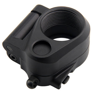 Tactical AR Folding Stock Adapter For M16/M4 SR25 Series GBB(AEG) For Airsoft Hunting Accessory