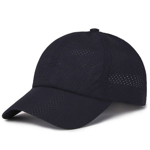 1pcs Women Man Ultra-slim Running Cap Quick-drying Fabric Summer Cap Unisex Mesh Hat Bone Breathable Hats