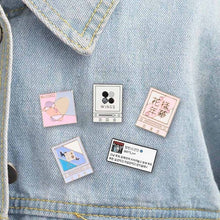 Load image into Gallery viewer, 2019 New Kpop Bts Love Yourself Metal Badge Cute Brooch Pins For Hats Clothes Backpack Hot