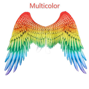 4 Style 3d Angel Wings Halloween Wings Decoration Angel Cosplay Accessories Theme Party Supplies Adult Clothing Accessories