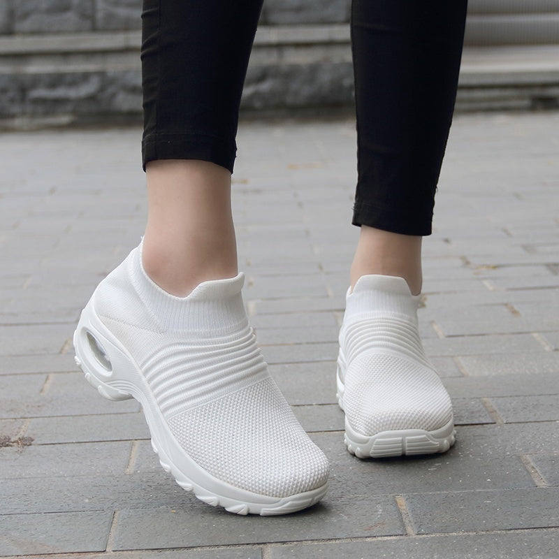 Women's Shoes Fashion Air Cushion Sports Shoes Breathable Running Shoes Sneakers