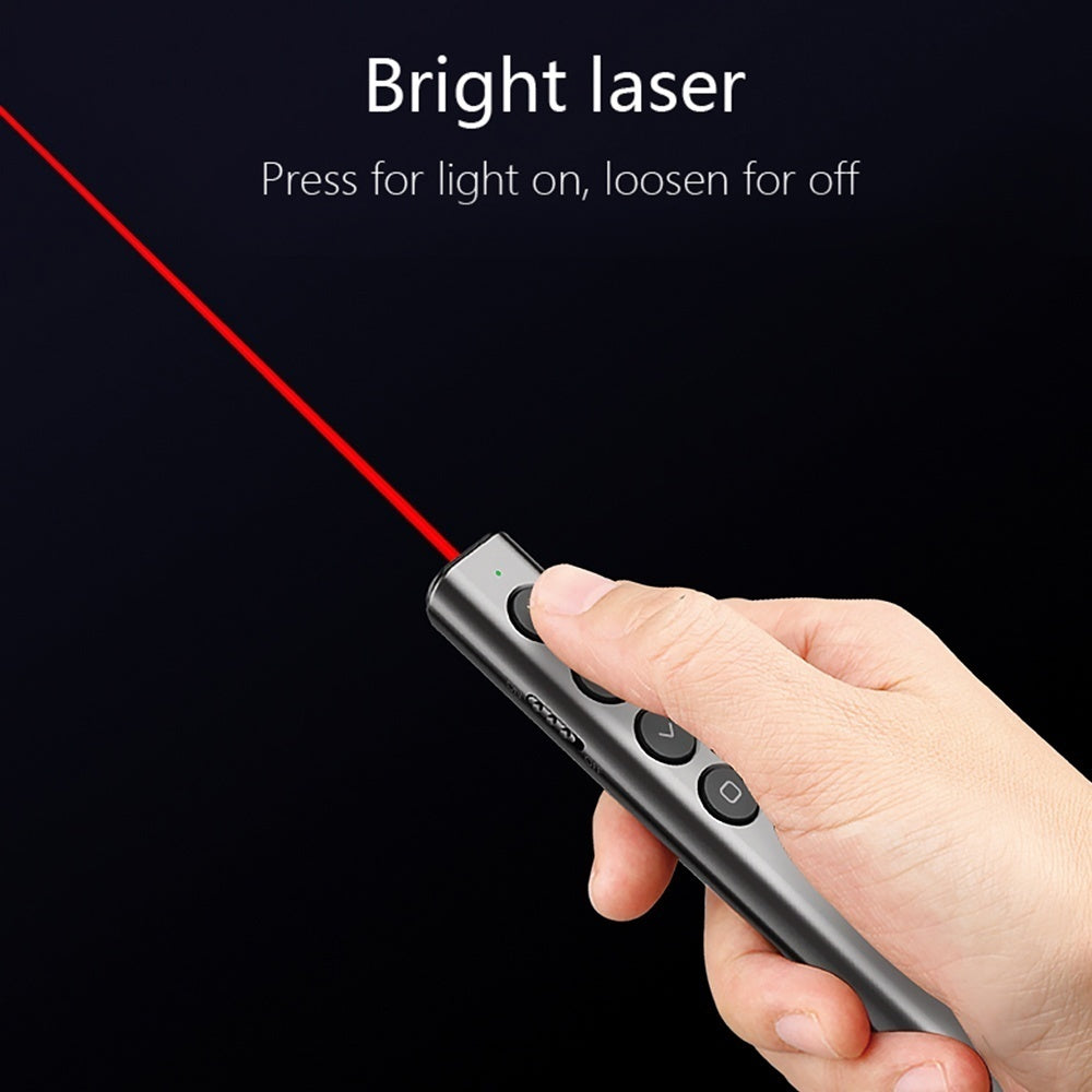 Hot Sale Power Point Presentation Laser Pointer USB Clicker Pen Wireless Remote Control