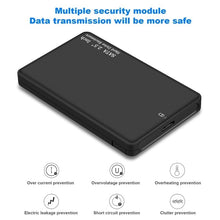 Load image into Gallery viewer, 2TB Portable External Hard Drive Ultra Slim SATA Storage Devices Case USB 3.0