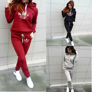Women Tracksuit Pullover Hoodie and Pant Sets for Women Jogging Sweatsuit