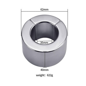 Magnetic Scrotum Pendant Ball Stretcher Testis Weight Lock Metal