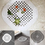 New Simple and Practical Floor Sink Strainer Anti-Clogging Filter Bathroom Drain Home Living Kitchen Tool Shower Cover