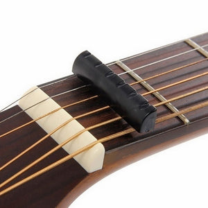 1 Set of 6 string guitar bone bridge pins guitar 6 string saddle nut guitar accessories for acoustic guitar