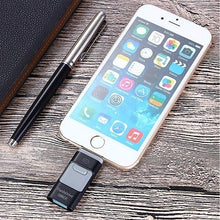 Load image into Gallery viewer, 100% original capacity 3 in 1 i-FlashDrive for iPhone/iPad/Android/PC 8GB/16GB/32GB/64GB/128GB OTG Pendrive