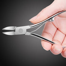 Load image into Gallery viewer, Nail Art Cuticle Nipper Cutter Clipper Manicure Pedicure Stainless Steel Tools FY