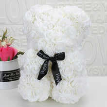 Load image into Gallery viewer, Romantic Valentine's DayCreative Eternal Flower Rose Bear Christmas Gift Rose Bear Hug Bear 1pcs