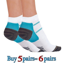 Load image into Gallery viewer, 2020  Sale Sport Veins Socks Plantar Absorbing Sweat Running Socks for Plantar Fasciitis Arch Pain