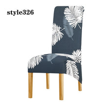 Load image into Gallery viewer, XL Size High Back Chair Cover Elastic Printing Chair Protector Removable Wedding Party Dining Room Restaurants Slipcover Home Decor