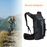 Outdoor Bike Bag 10L Waterproof Bicycle Bag Breathable Ultralight Climbing Cycling Backpacks