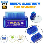 1PC Scanner Adapter ELM327 OBDII TORQUE Android Diagnostic Tool OBD2 Bluetooth
