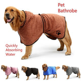 S-XXXXXL Pet Dog Cat Bathrobe Microfiber Quickly Absorbing Water Bath Towel