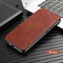 Load image into Gallery viewer, Magnetic Leather Book Flip Phone Case for Xiaomi Redmi Note 8 Pro 8t 8a 7 6 7a 6a 5 Plus A2 Lite Card Holder Stand Cover Coque