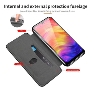 Magnetic Leather Book Flip Phone Case for Xiaomi Redmi Note 8 Pro 8t 8a 7 6 7a 6a 5 Plus A2 Lite Card Holder Stand Cover Coque
