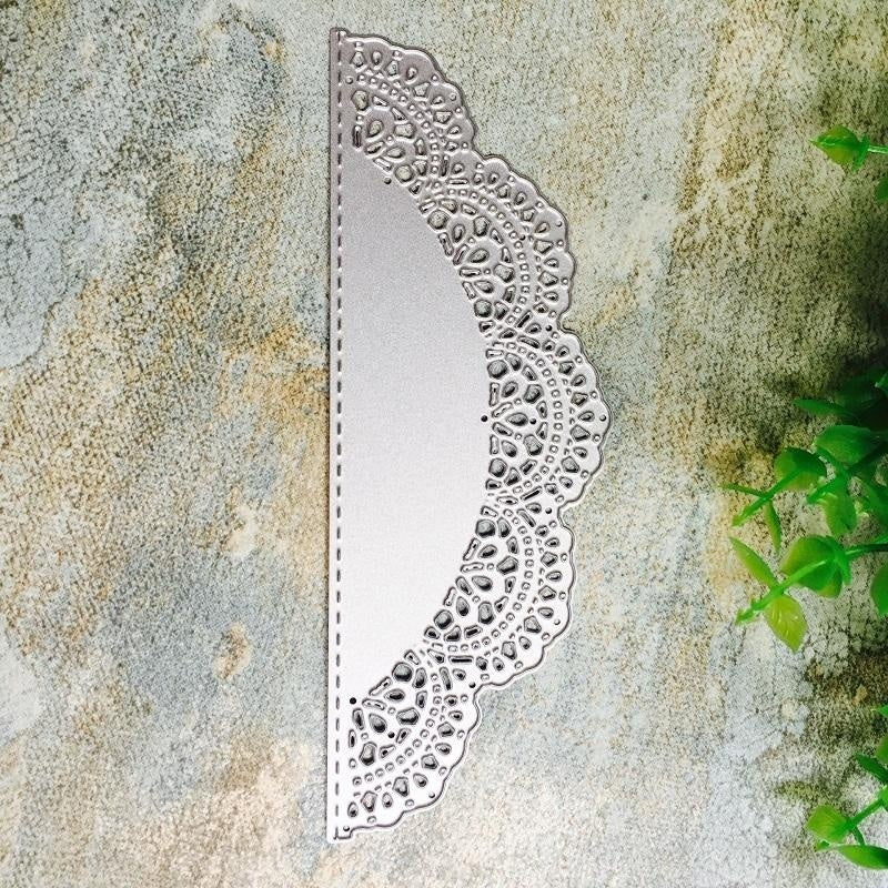 Metal Cutting Die Scrapbooking Christmas Card Greeting Card Gift Card  Invitation Card Cover Making Lace Decor Embossing