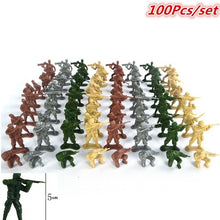 Load image into Gallery viewer, 100pcs Military Action Soldiers Army Figures Toys Collection Intelligence Educational Toys Gift