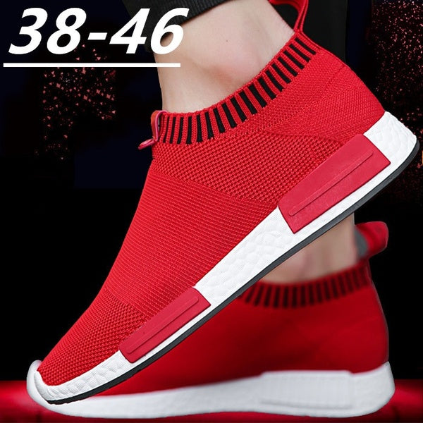 New Mens Breathable Mesh Shoes Mens Lightweight Casual Shoes