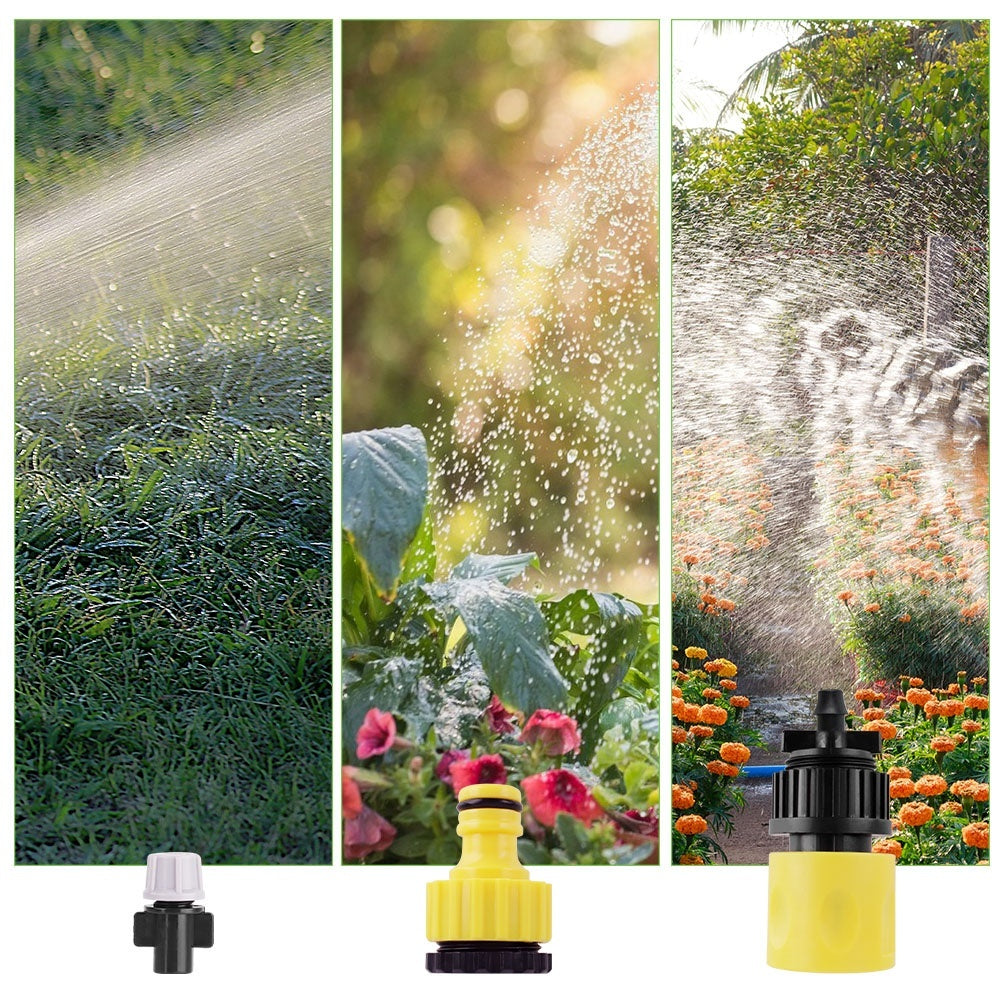 10m Timing Drip Irrigation System Dripper Plant Self Watering Garden Spray Hose Kit With Adjustable Drippers Irrigation Tool