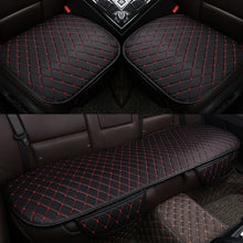 Load image into Gallery viewer, Leather Car Seat Cover Set Front Car Seat Cover Rear Seat Covers for Car Seat Pad Car Seat Protector Car Interior Accessories
