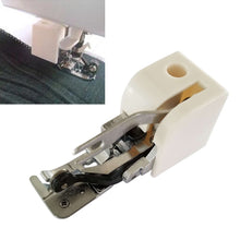 Load image into Gallery viewer, Durable Metal & Plastic Side Cutter Presser Foot/Embroidery Darning Foot for Low-Shank Sewing Machine Stylish Design