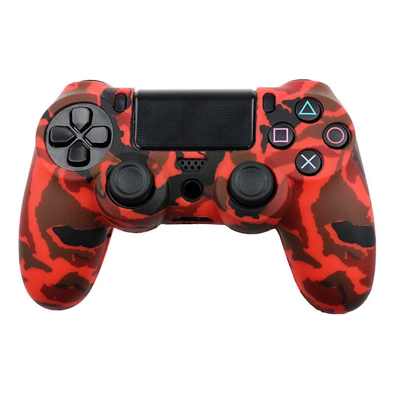 Silicone Protective Skin Case Cover for PS4 Playstation 4 Slim Controller