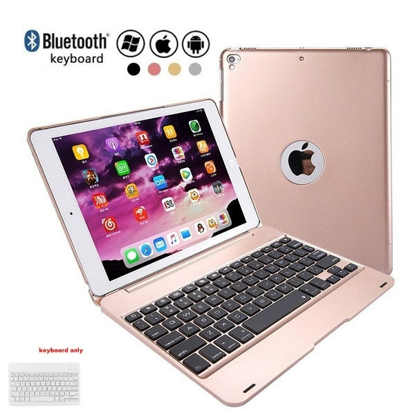 2020 The New Ipad Pro 9.7 Tablet Computer Bluetooth Keyboard Air2 Wireless Bluetooth Flip - Over Keyboard, 4 Colors
